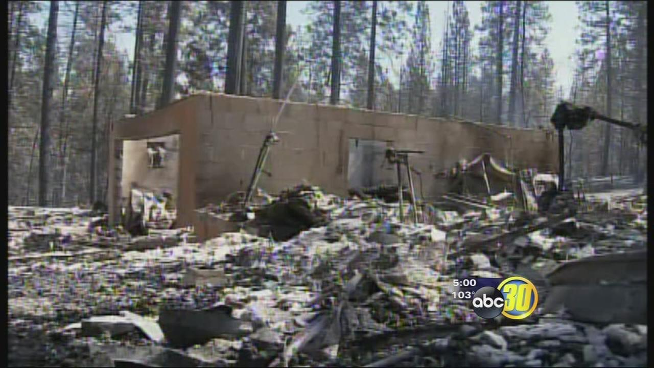 Courtney Fire evacuees discuss ordeal