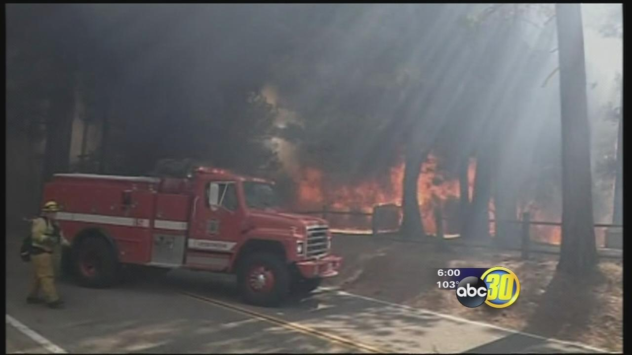 Courtney Fire destroys homes, water wells