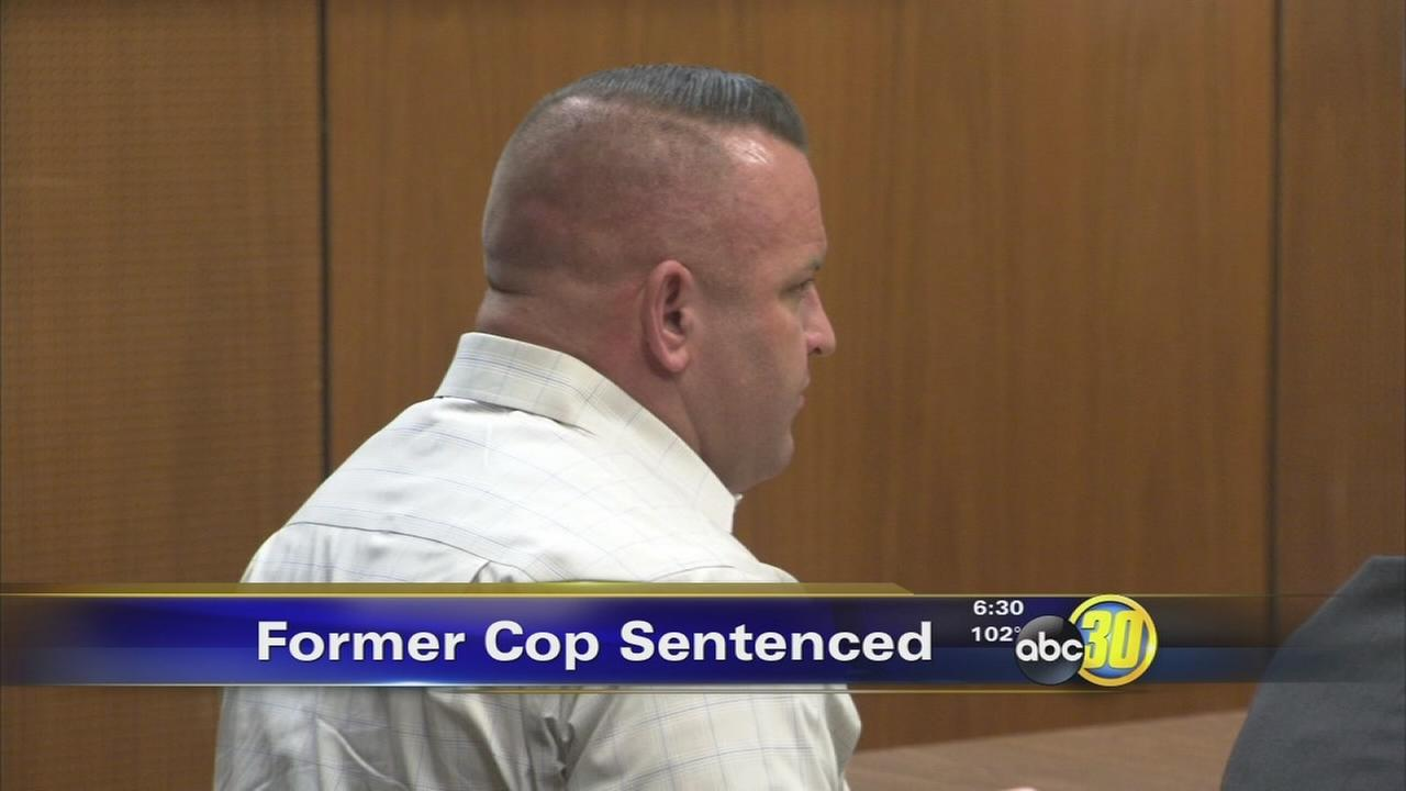 Former Clovis police officer admits domestic violence
