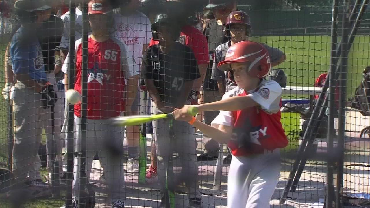 Chukchansi Park hosts Jr. Home Run Derby