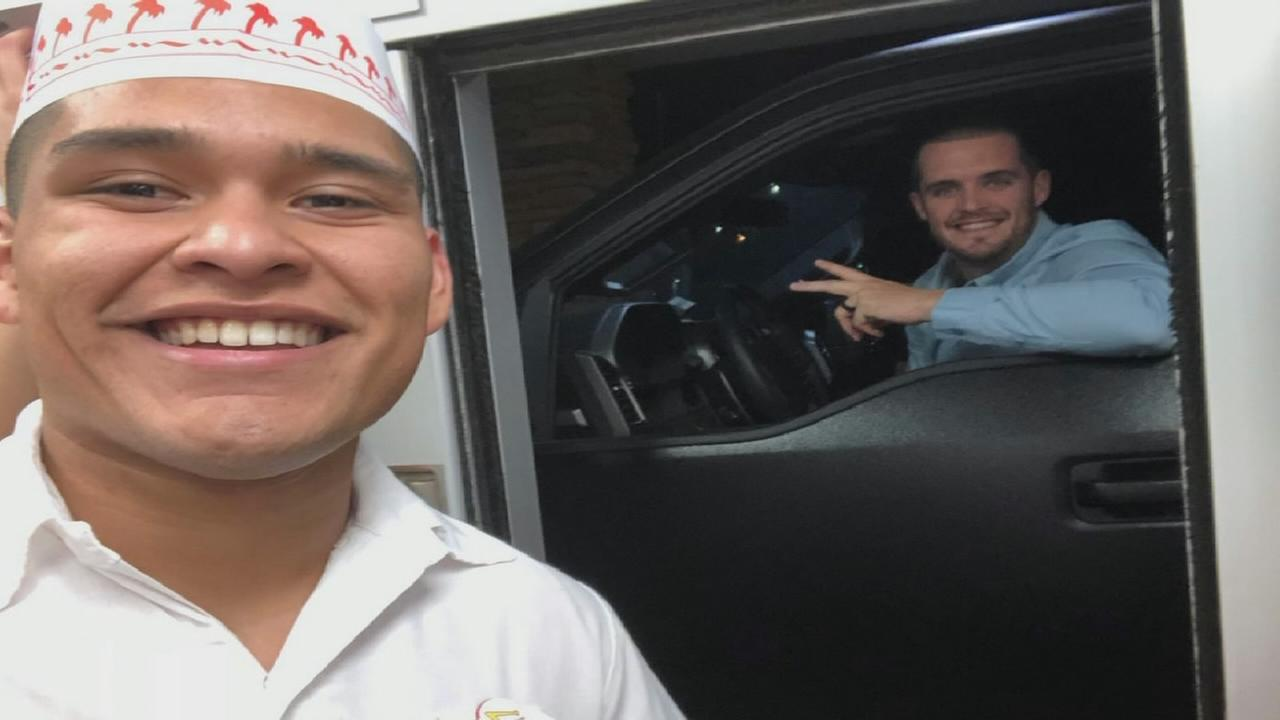 Central Valley In-N-Out got a special surprise