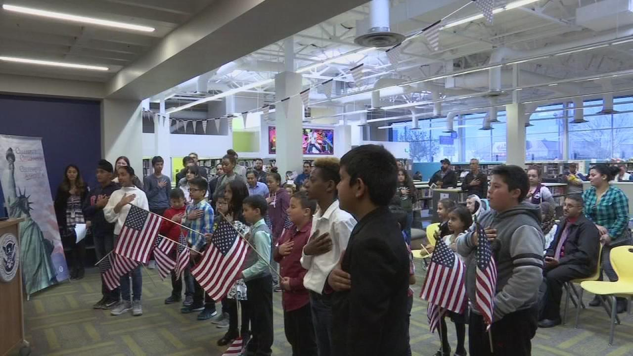 Fresno Library hosts Oath Ceremony for new citizens