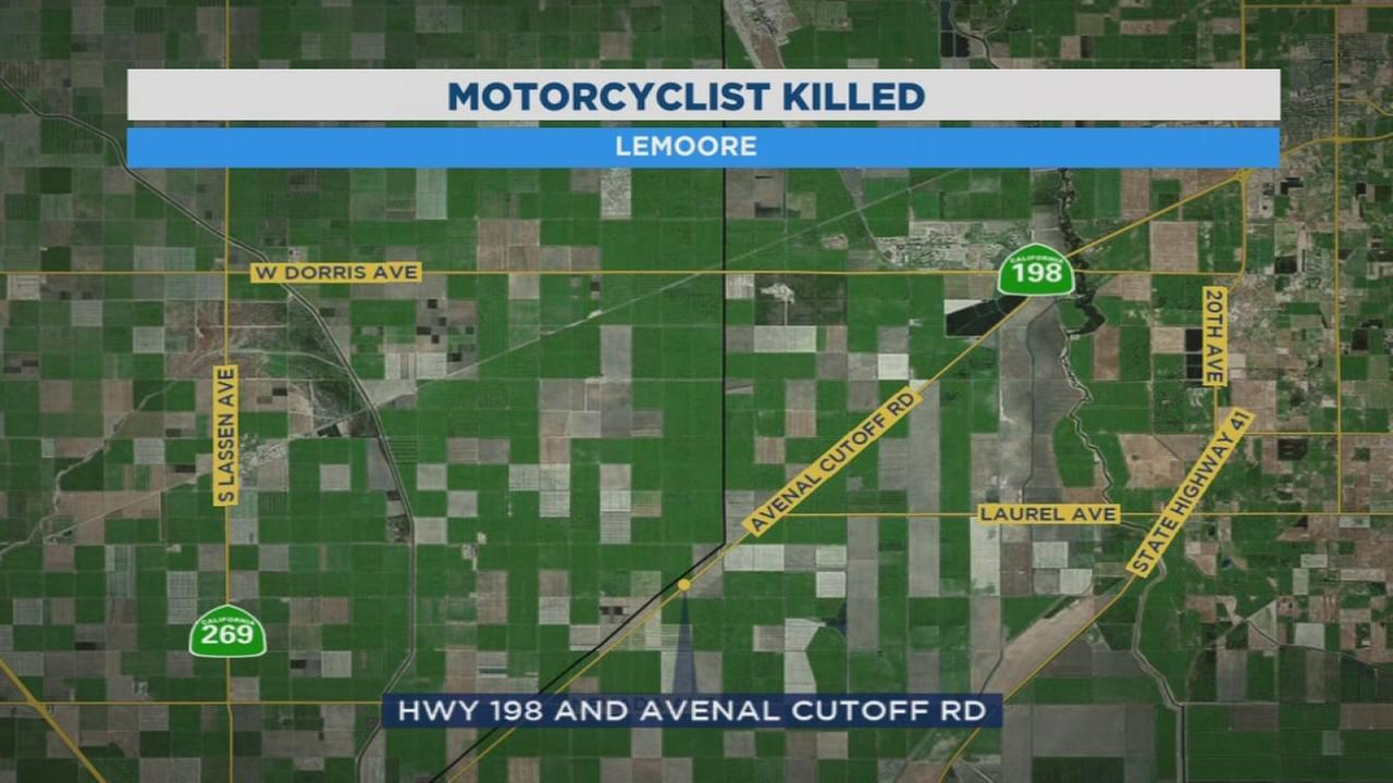 Motorcyclist killed by DUI driver in Lemoore