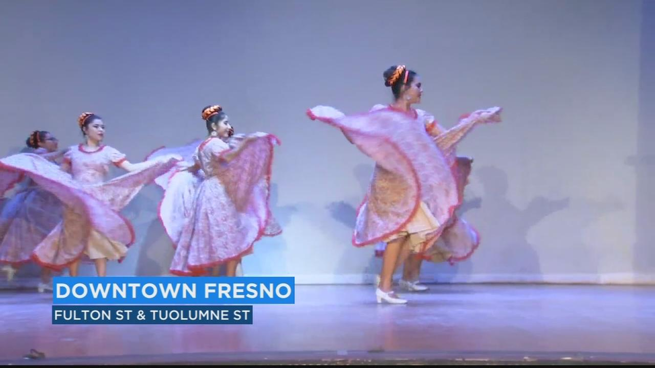 Valley high school students perform traditional Mexican folkloric dances