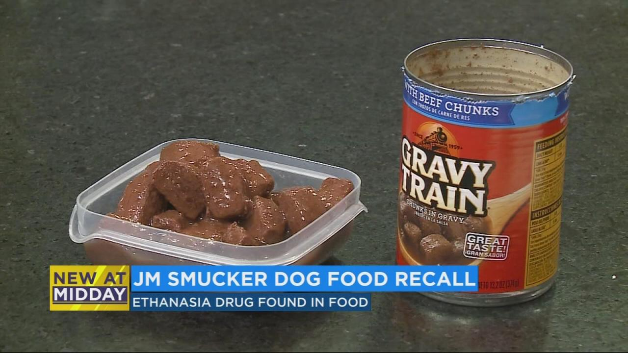 Dog food possibly tainted with Euthanasia Drug recalled