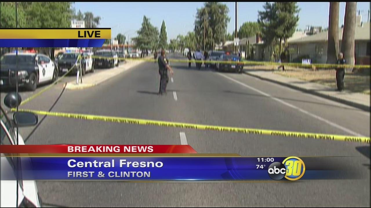 Officer involved shooting in Central Fresno