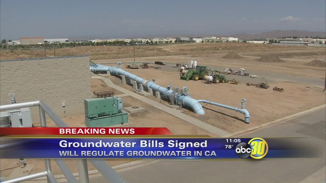 Governor Brown signs first California groundwater rules