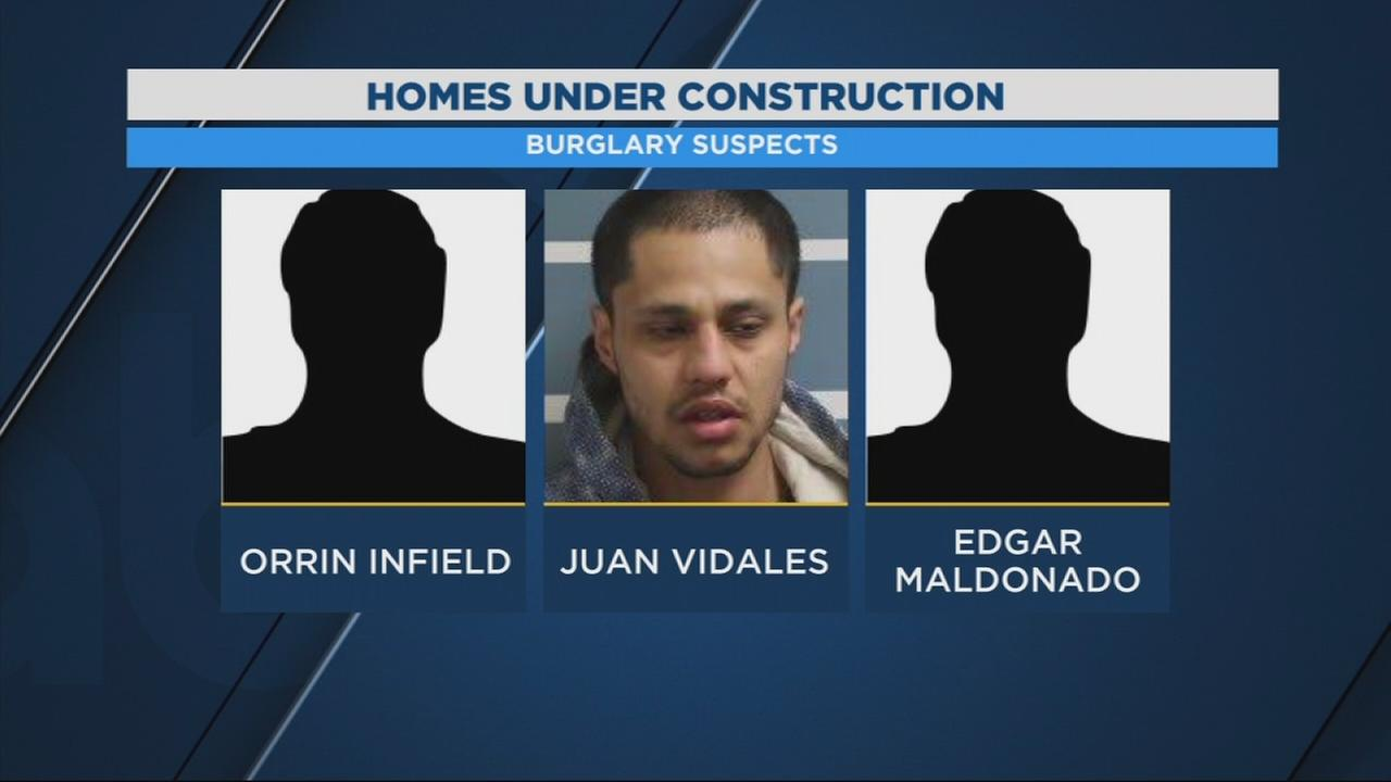 3 people arrested for stealing appliances from unfinished homes in Visalia