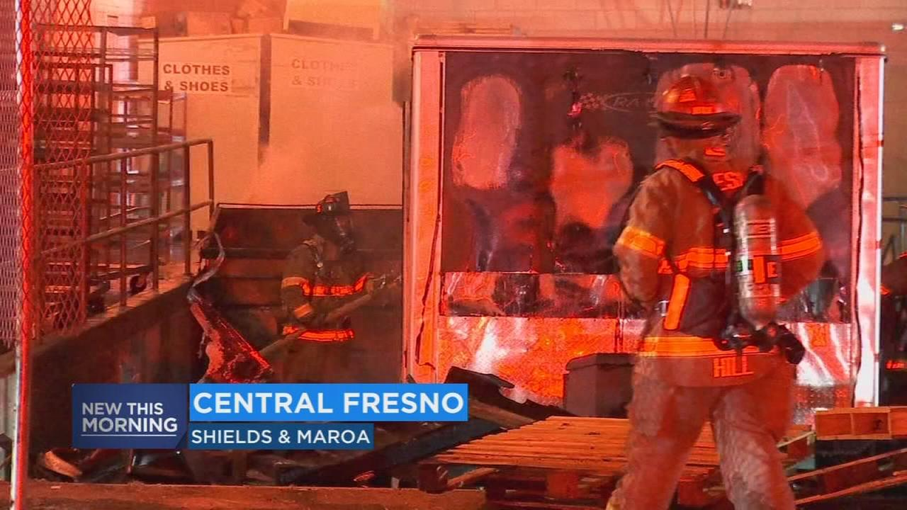 Firefighters save Central Fresno business after fire breaks out