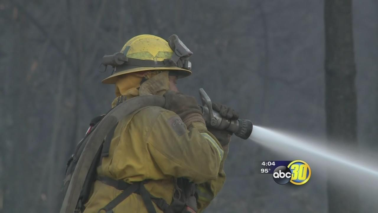 California wildfires putting strain on firefighting resources
