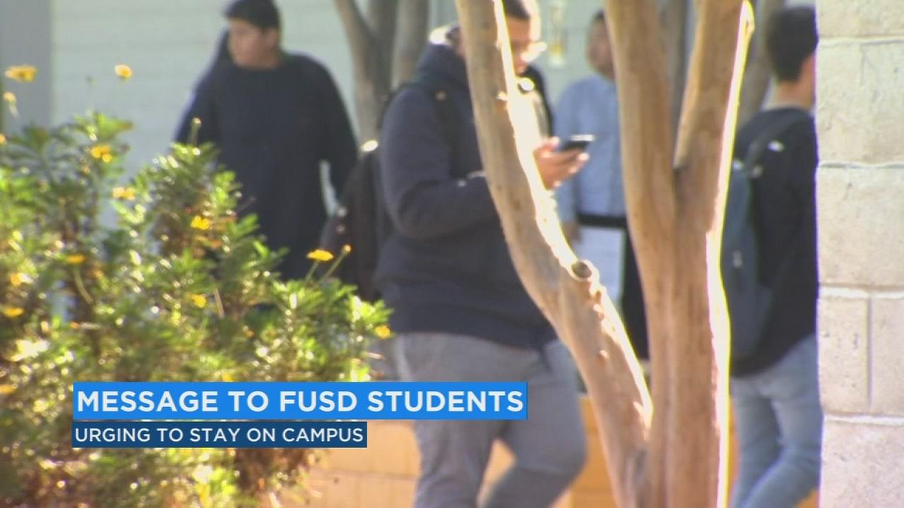 Fresno Unified urging students to stay in class among calls for walkout for anti-gun violence