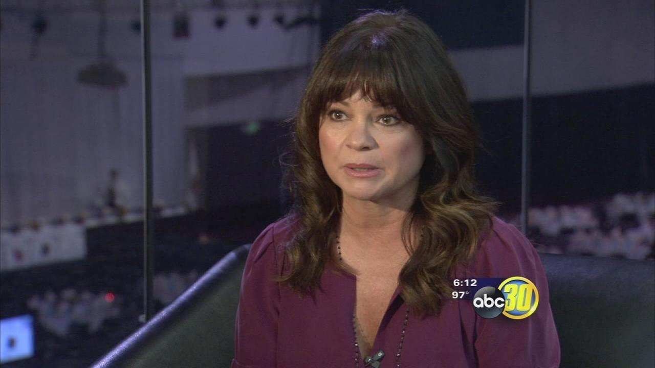 Actress Valerie Bertinelli talks with ABC30