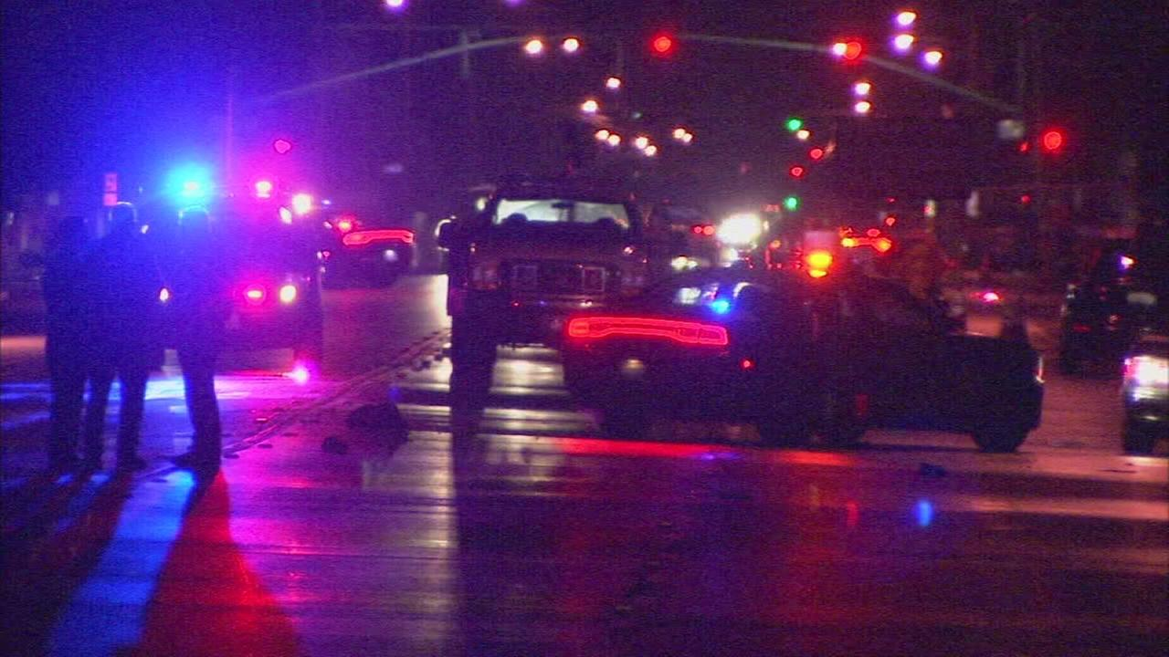 Woman killed after being hit by car in East Central Fresno