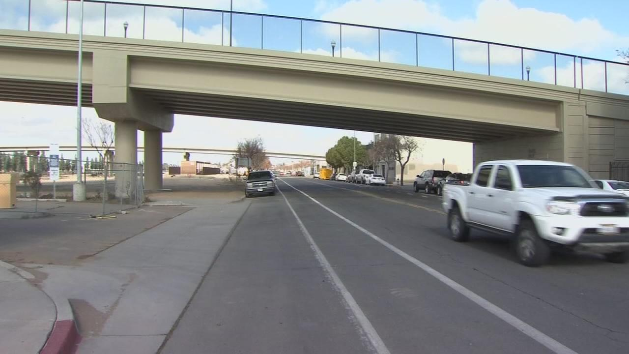 Road closures in Downtown Fresno due to High Speed Rail project