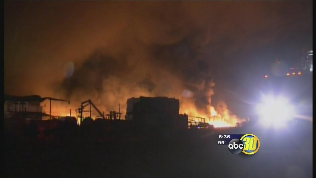 Fire nearly destroys Ivanhoe packinghouse