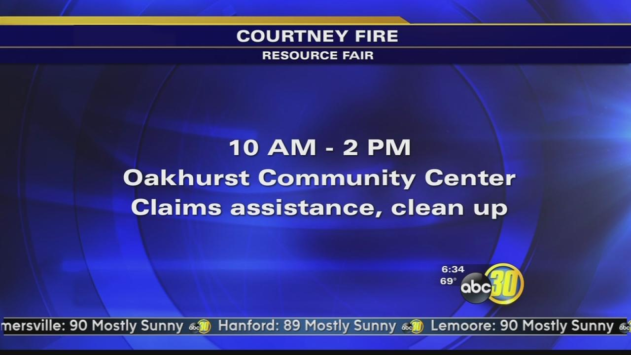 Courtney Fire Resource Fair