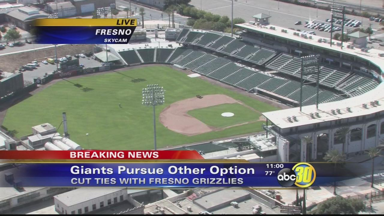 San Francisco Giants cut ties with the Fresno Grizzlies