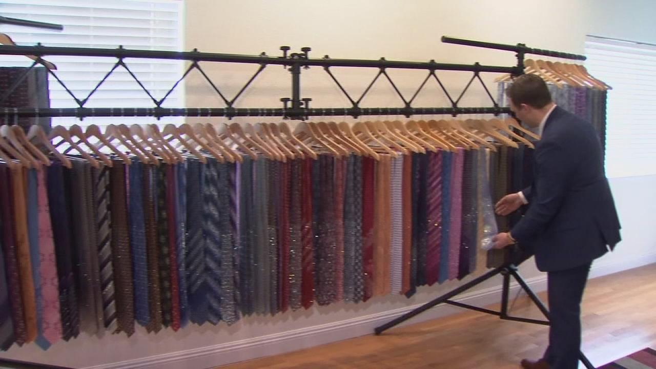 Fresno business turning ordinary ties into sparkling accessories