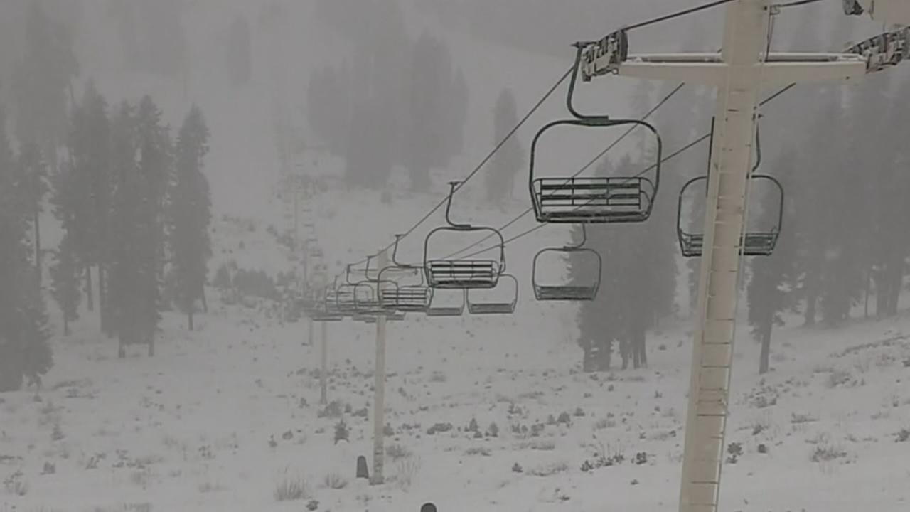 Winter storm to bring snow to Sierras and rain in Valley