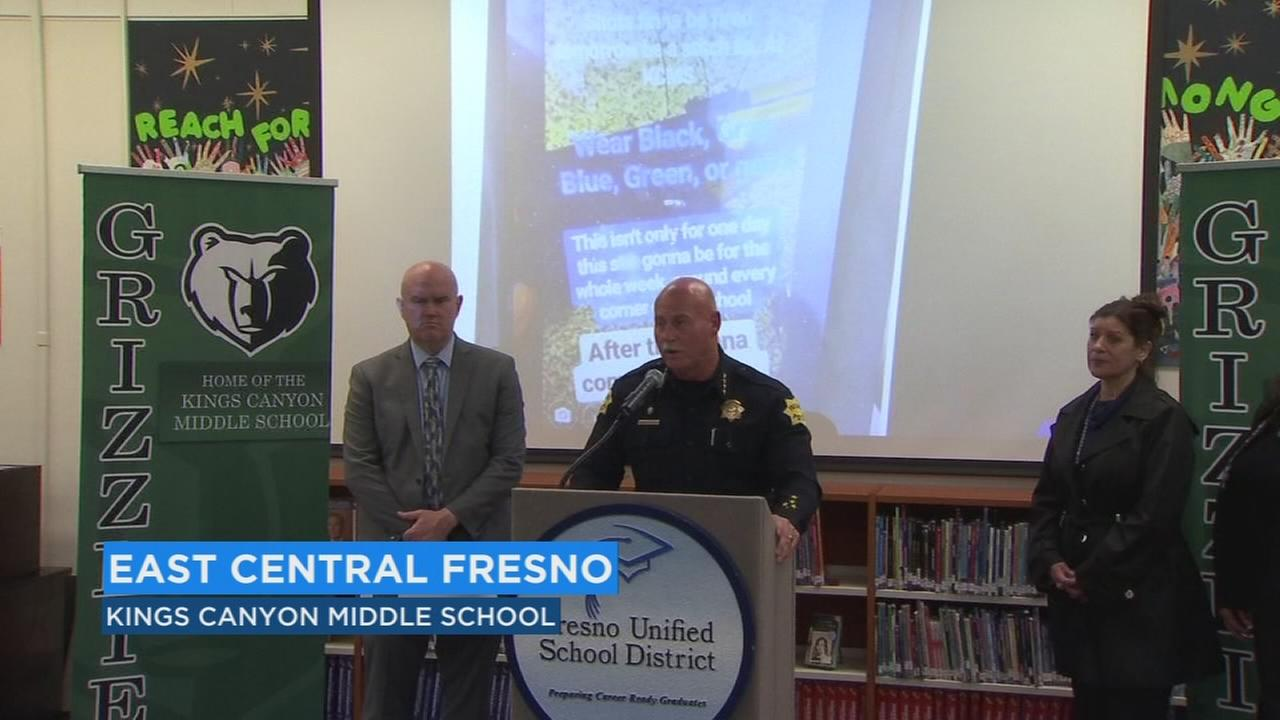 Fresno Police announce student arrested for school threats on social media