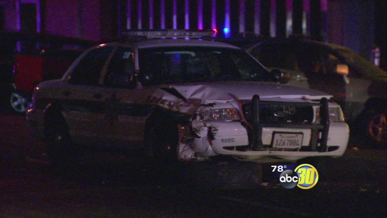 Sheriffs deputy unhurt in Fresno hit-and-run crash