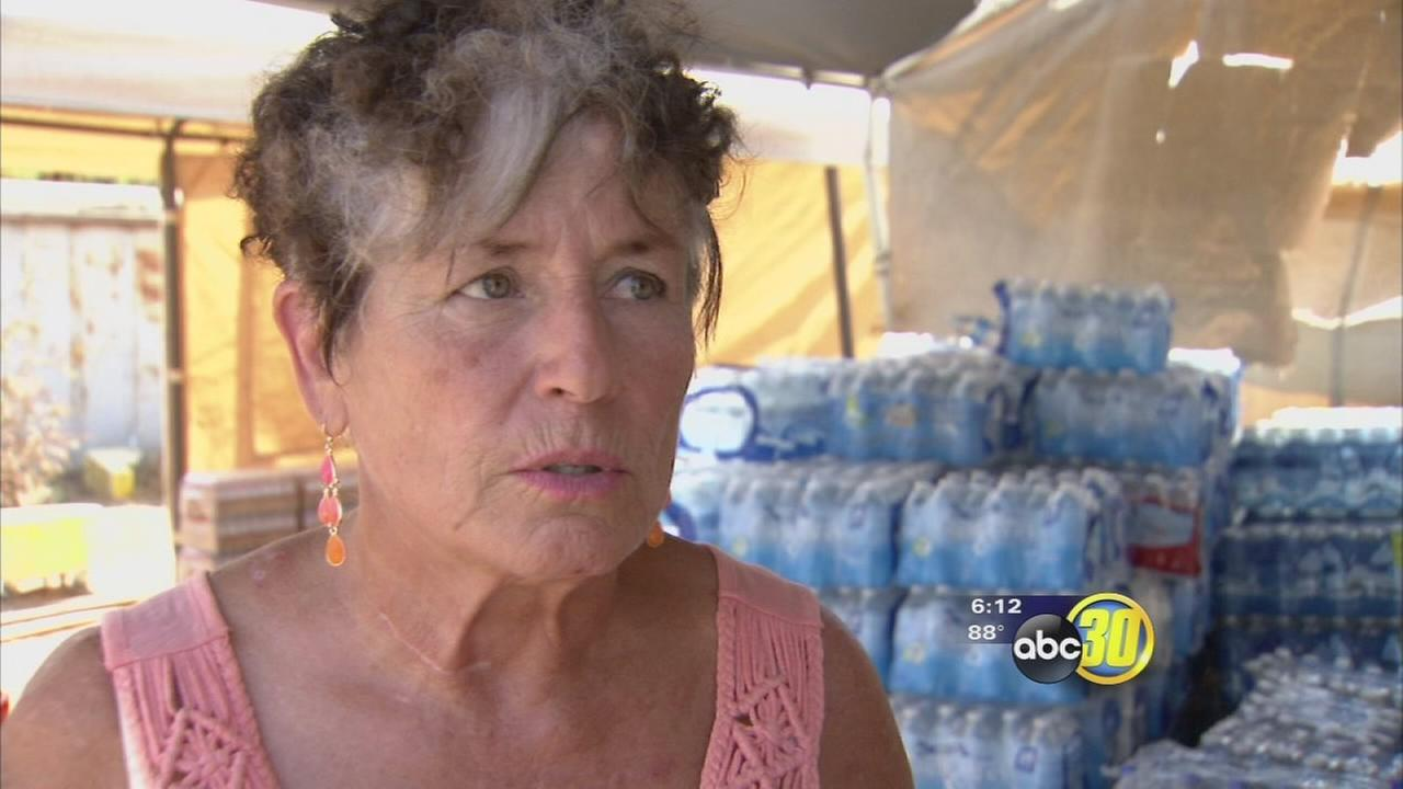 Porterville woman provides drought relief for neighbors