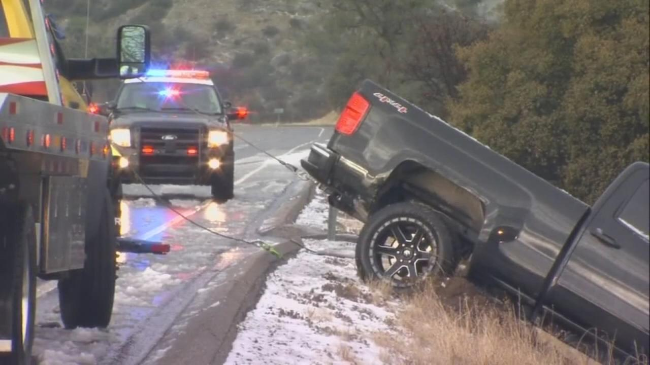 Officials warn drivers of hazardous road conditions