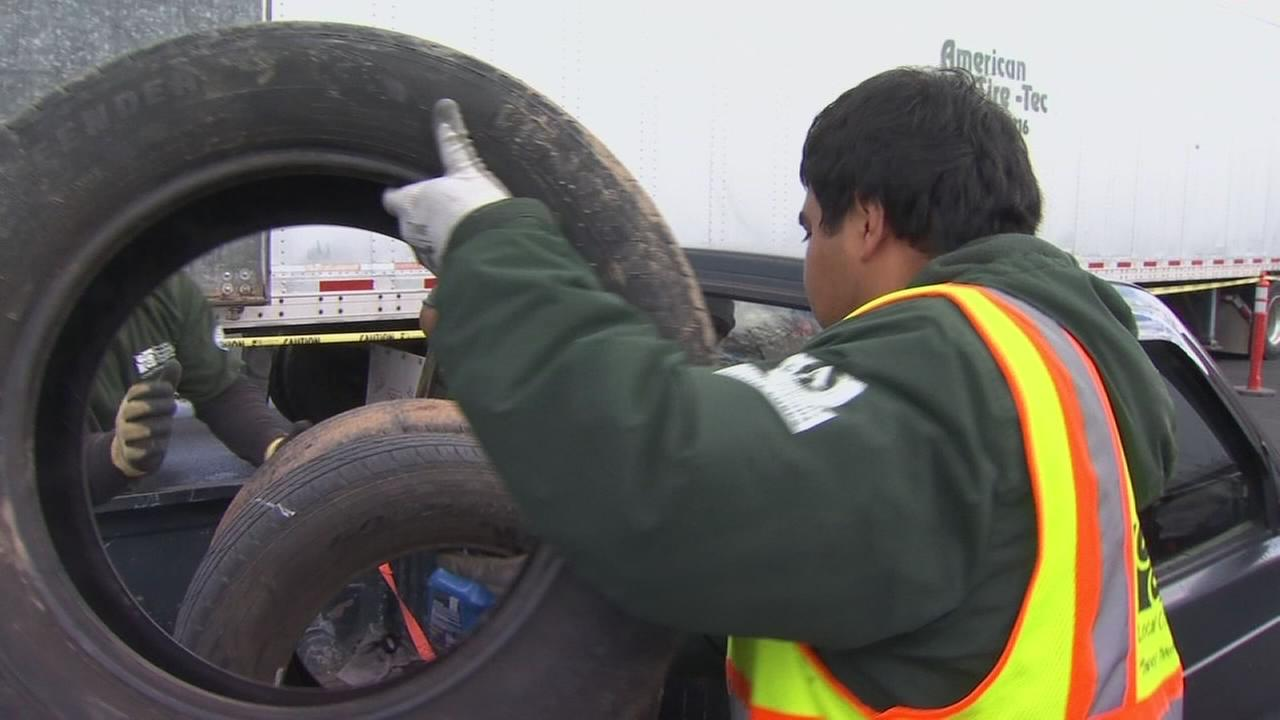 Fresno holds annual tire amnesty event
