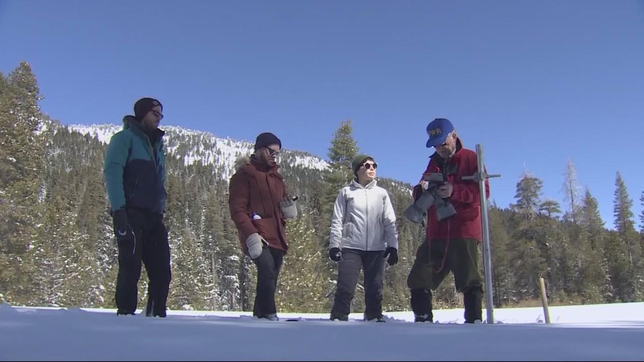 Californias snowpack measurement results for 2018