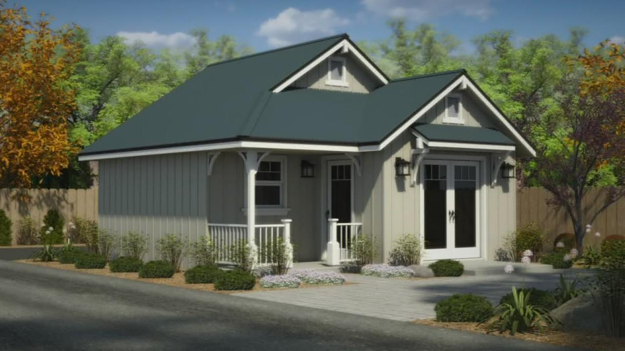 Tiny home construction is underway in Old Town Clovis