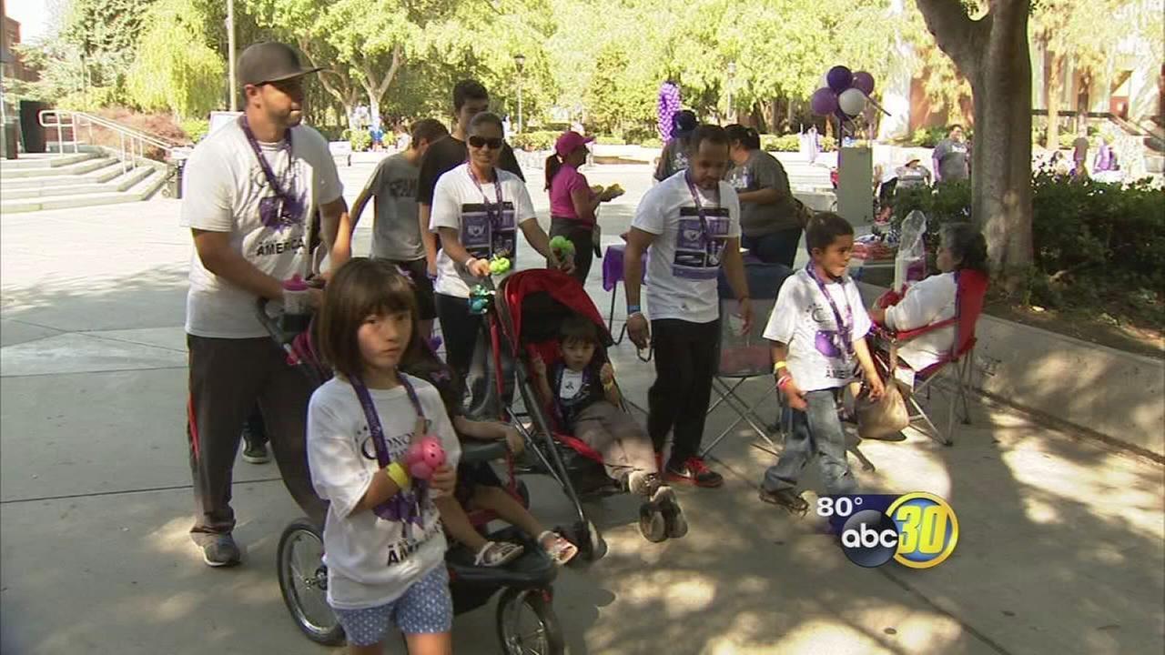 Dozens participate in Fresno Conquer Chiari Walk