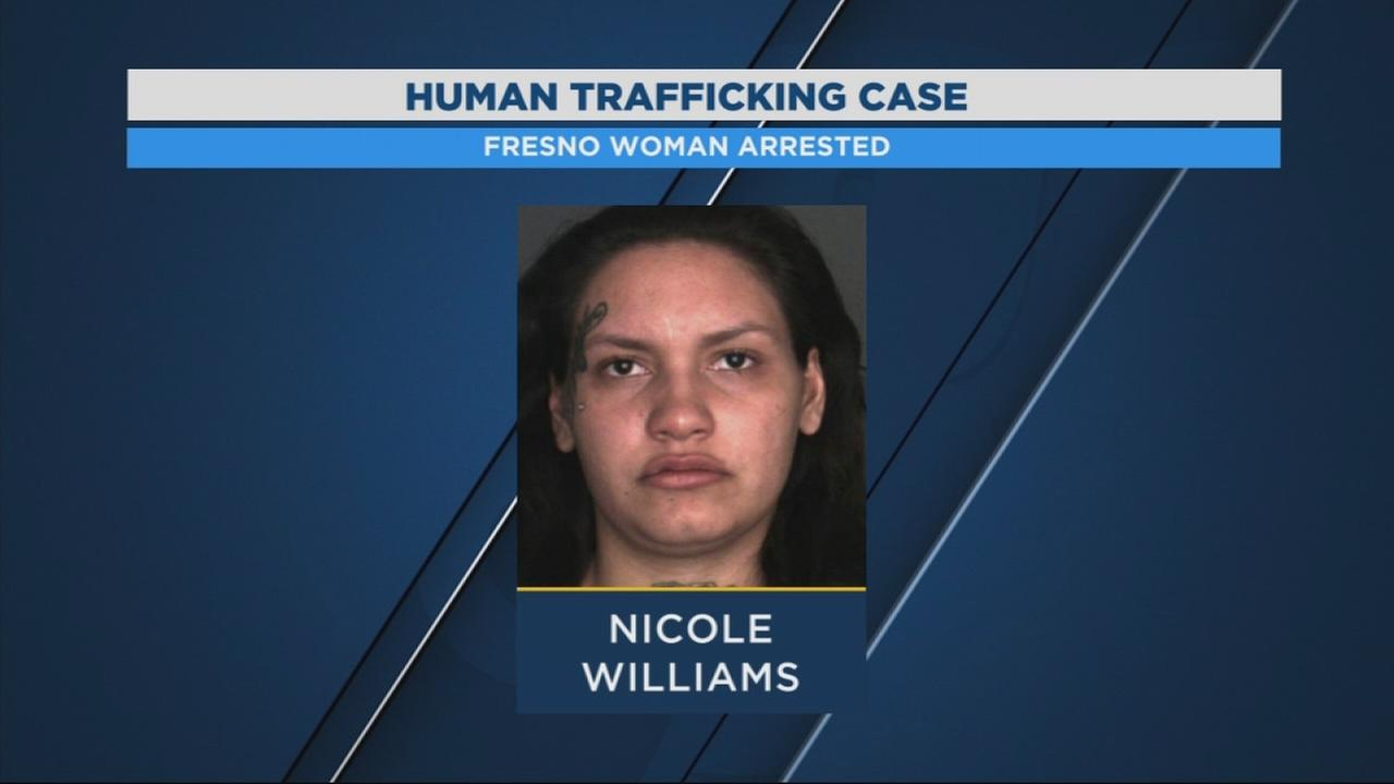 Fresno Woman arrested for human trafficking in SoCal
