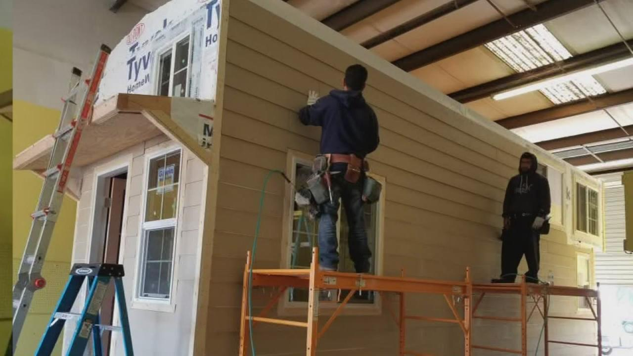 Tiny house business growing in Fresno