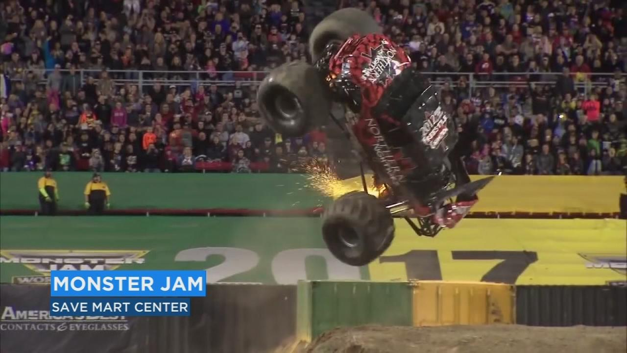 Monster Jam is back in Fresno