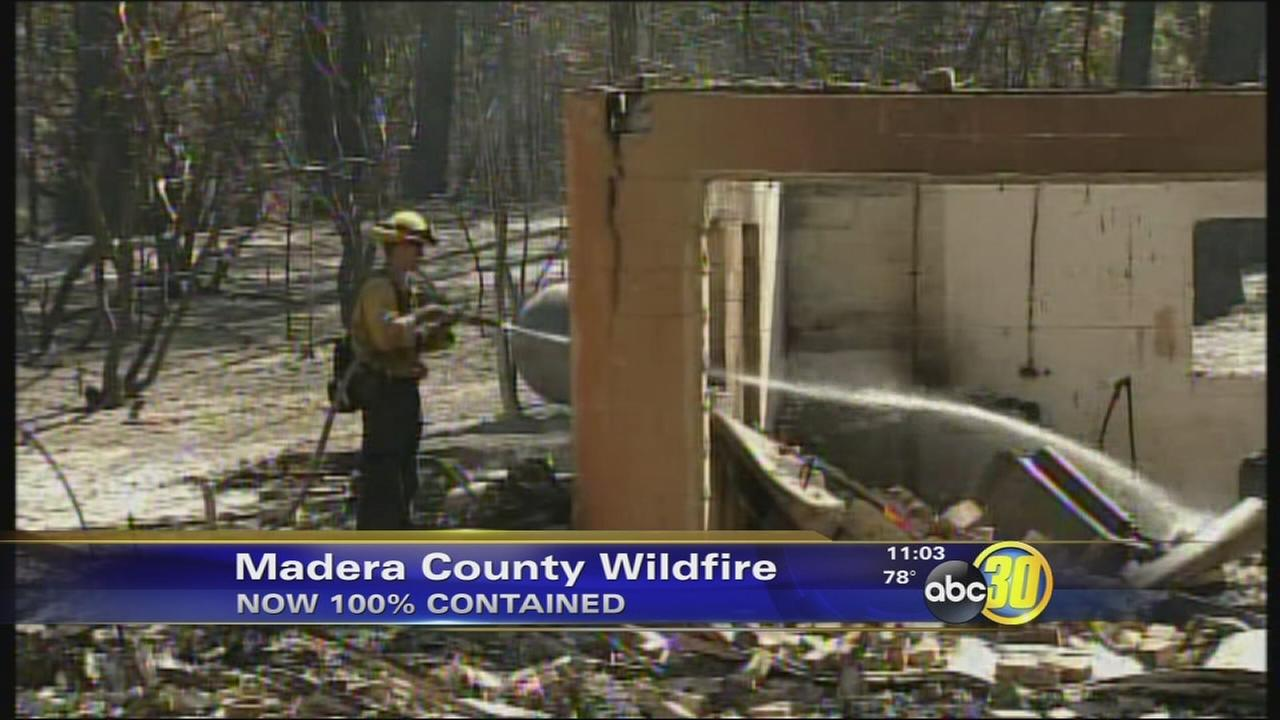 Courtney Fire now 100 percent contained