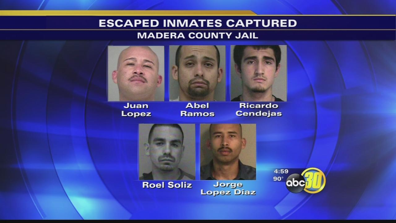 Madera County Jail escape raises security concerns