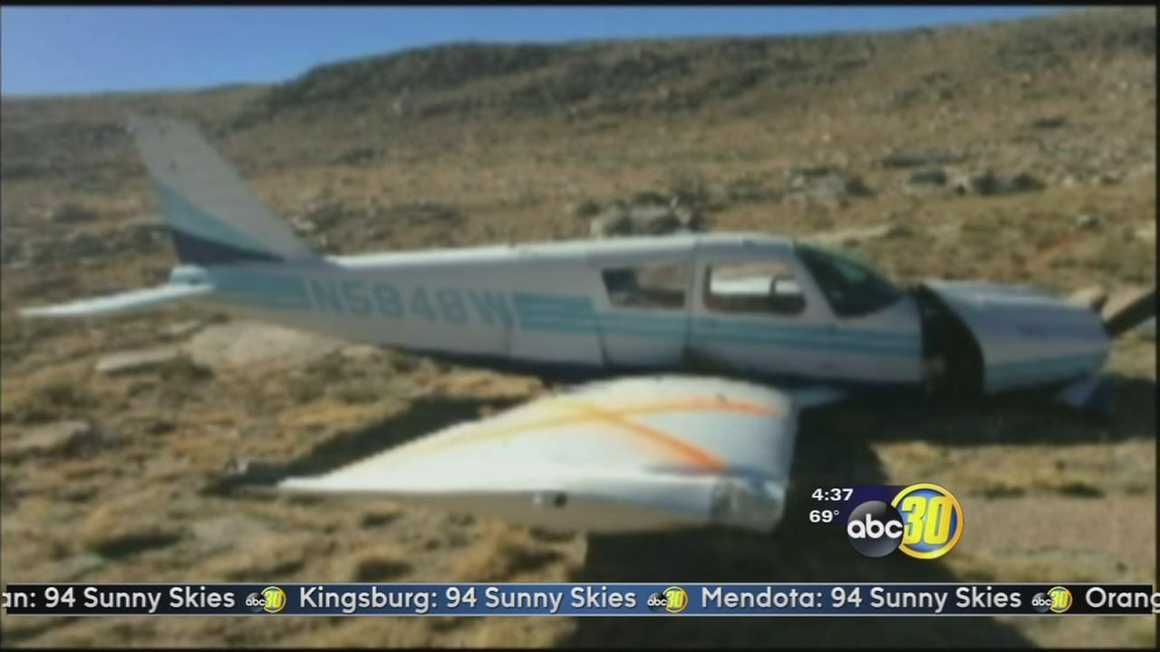 Pilot talks about crashing, surviving in Sequoia National Park
