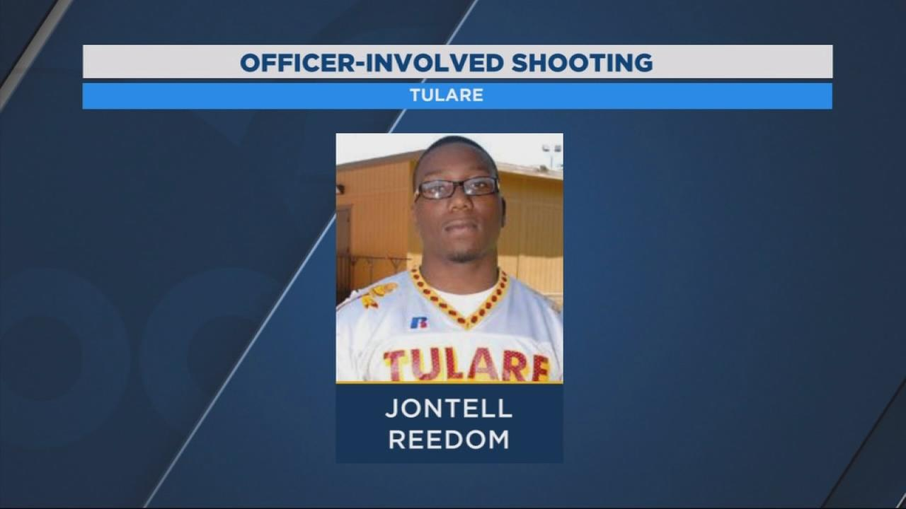 Man shot and killed during a fight with Tulare Police identified