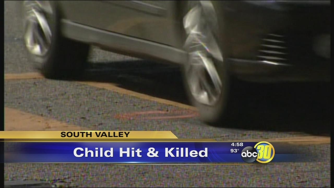 3-year-old girl killed by car near school in Dinuba