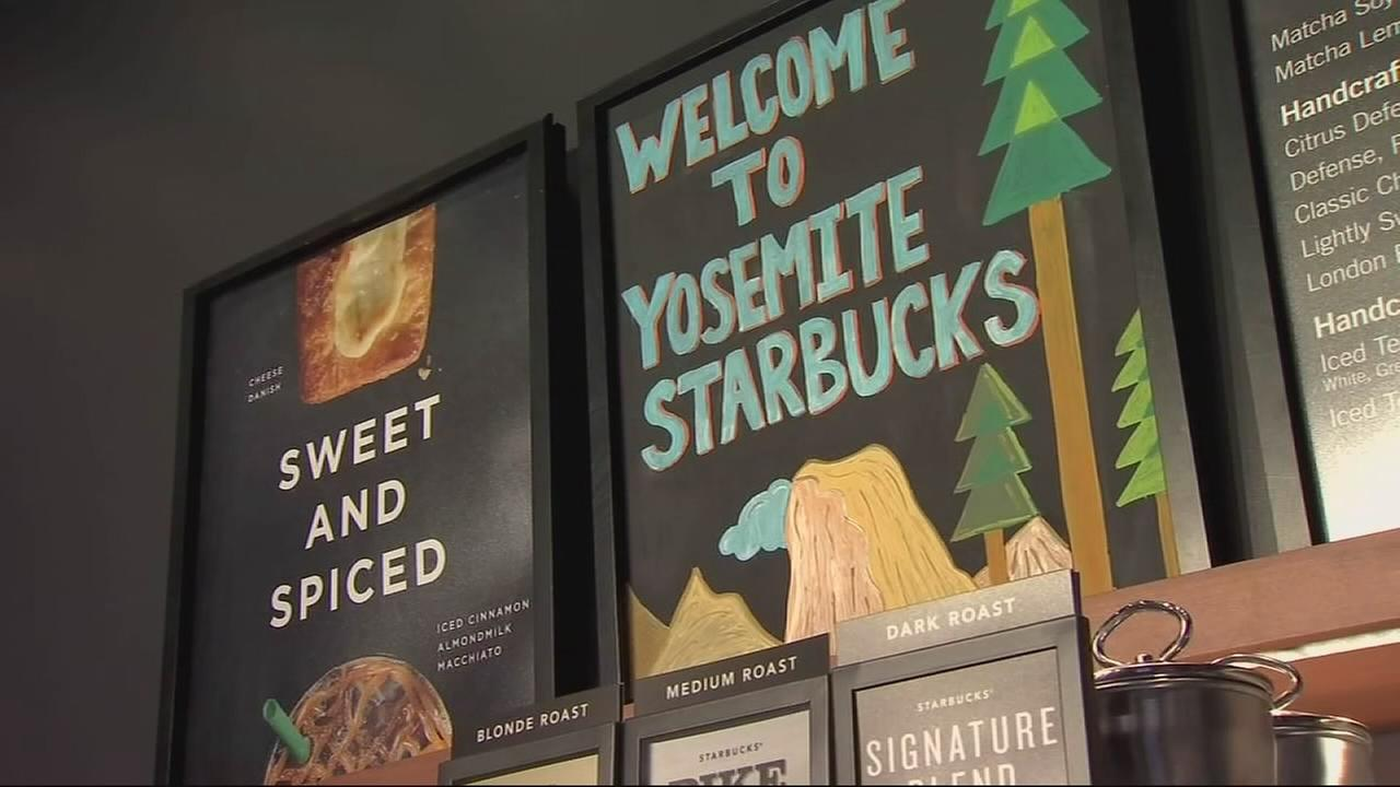 Frappuccino by the Falls: Starbucks comes to Yosemite
