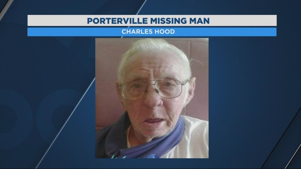 Silver alert issued for missing Porterville man