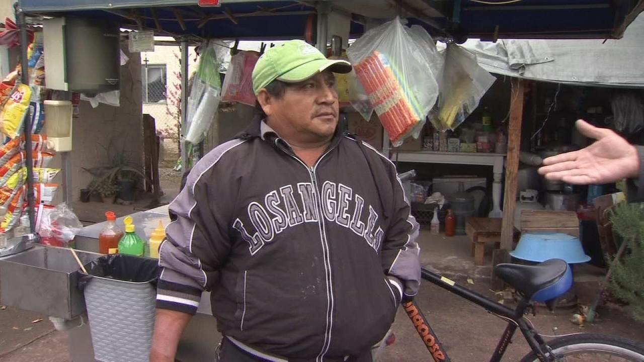 Street vendor attacked in Madera shares his story