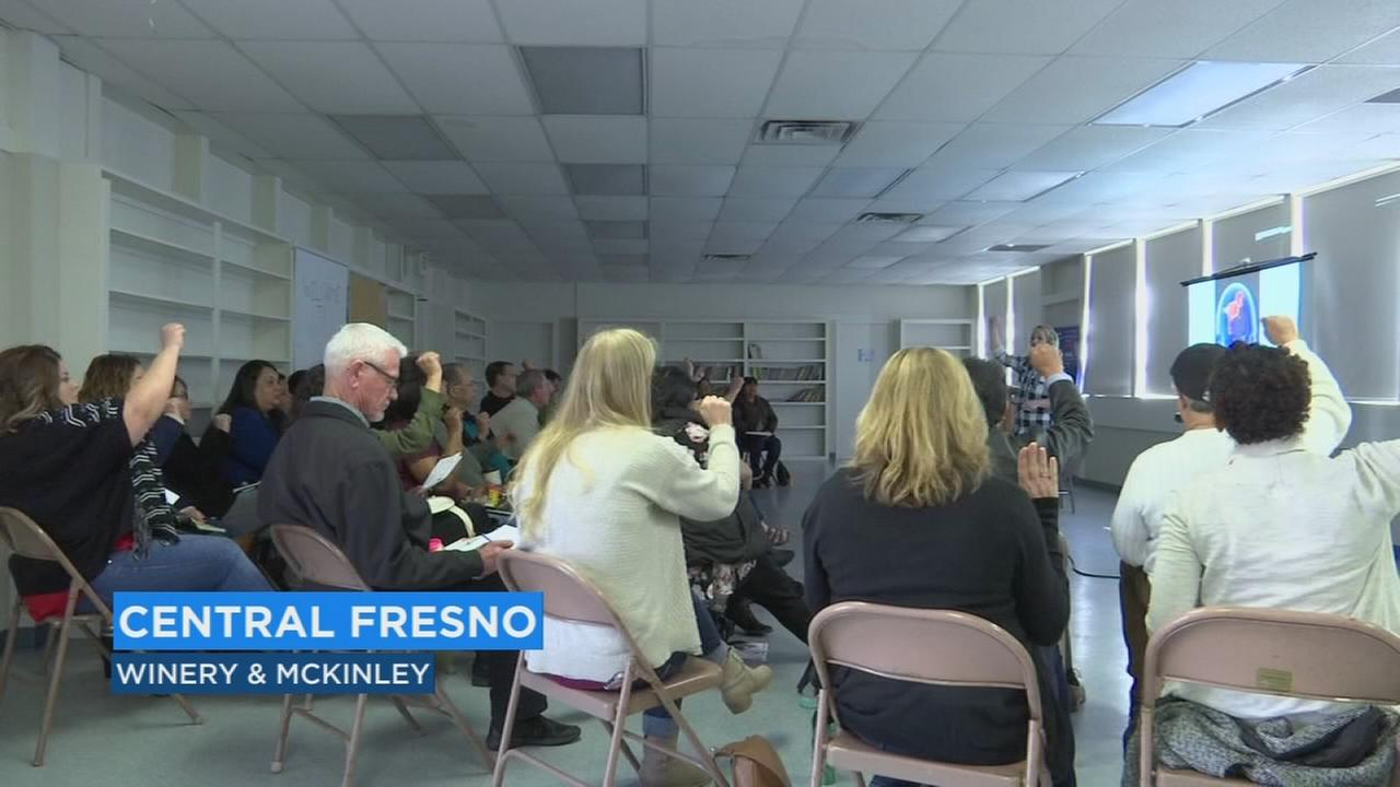 Dozens in the valley learn about the effects of trauma