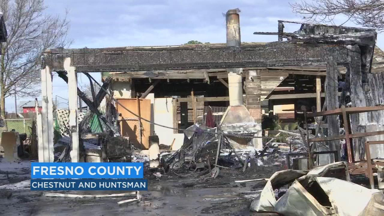 Lack of adequate space between in fireplace, cause of early morning house fire, investigators say