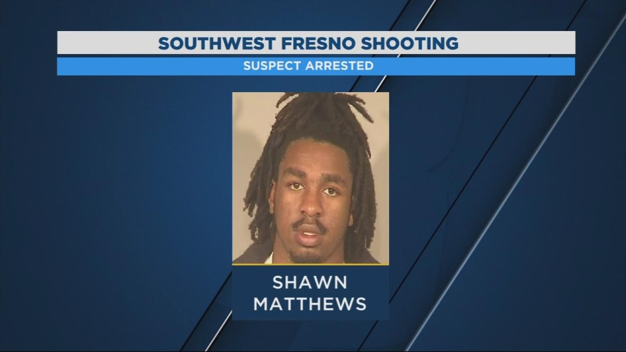 Fresno Police arrest man for shooting in SW Fresno