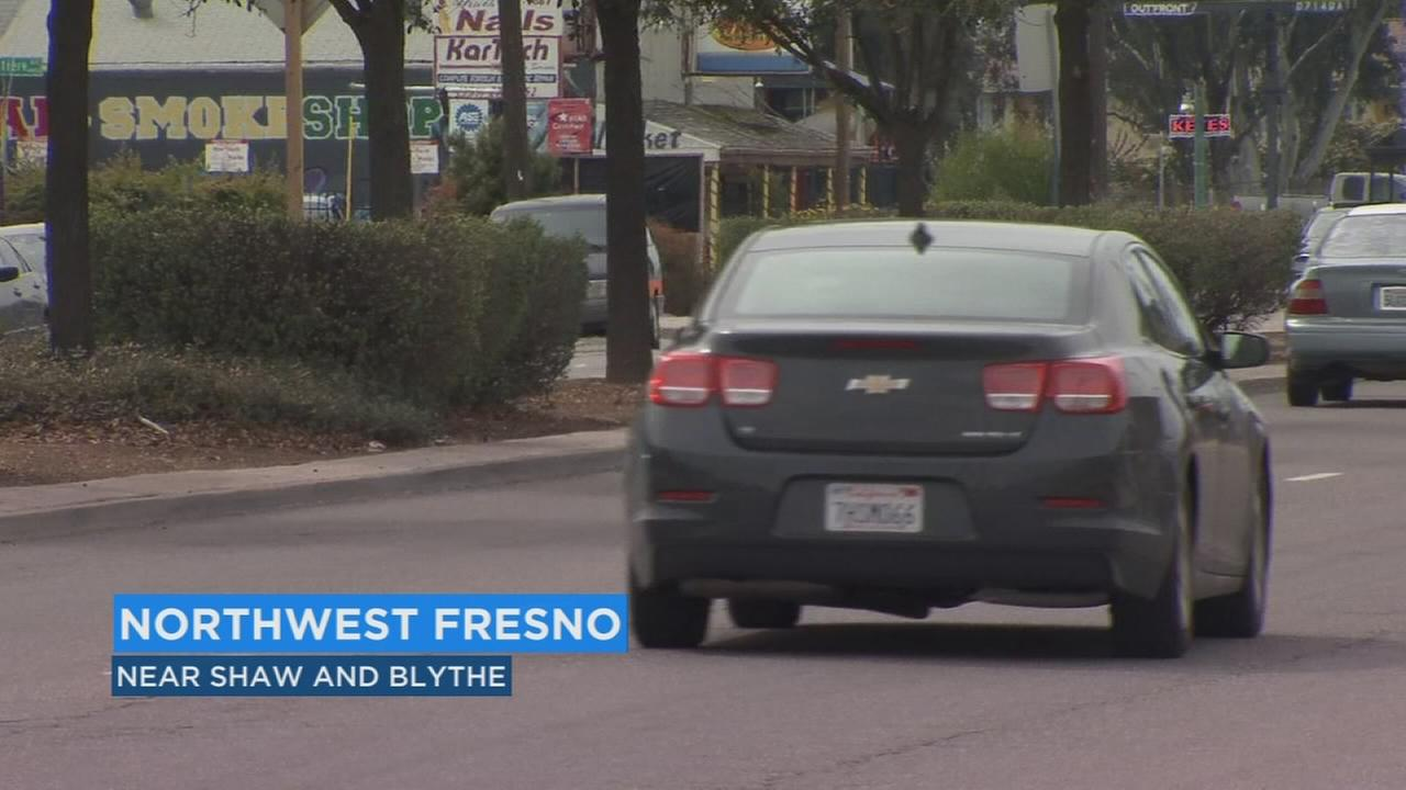 Road closure in Fresno due to High Speed Rail project utility relocation