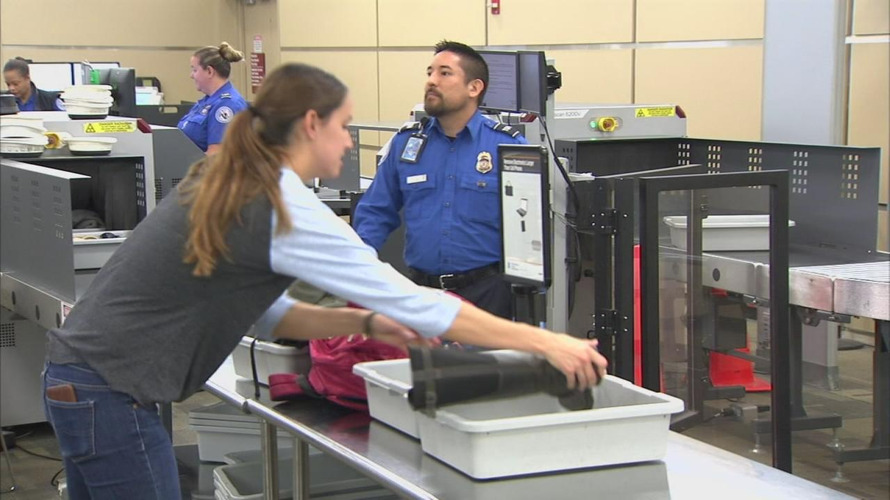 Airports preparing for a busy spring break with new security procedures