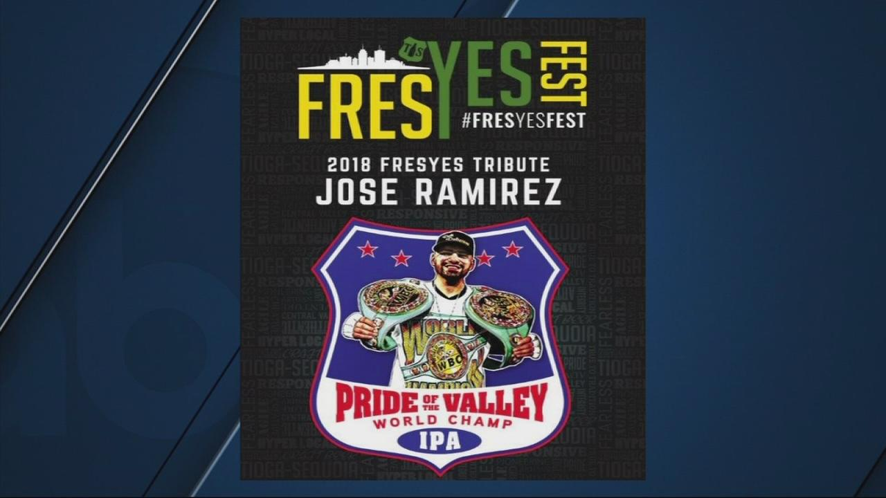 Jose Ramirez to be honored with tribute beer at Fres-Yes Fest
