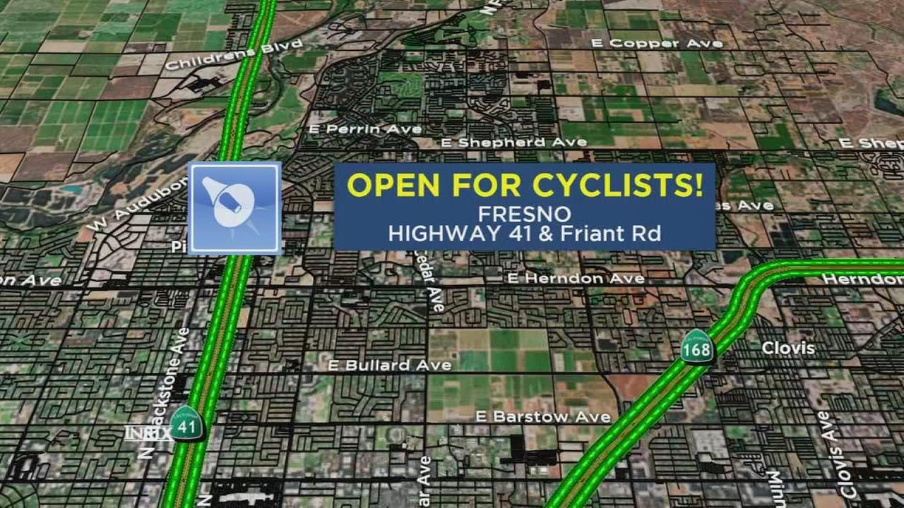 Caltrans unveils signs that allow local bike enthusiasts to access certain on-ramps