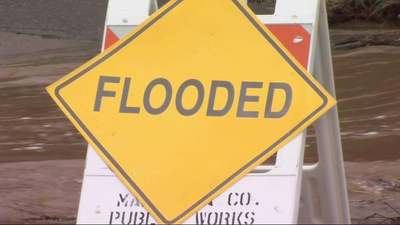 Mariposa County cleaning up after a downpour that triggered flooding
